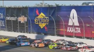 Monster Energy NASCAR Cup Series 2017. Daytona 500. Big One #3