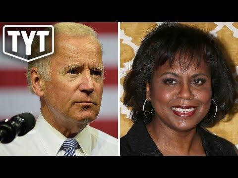 Joe Biden Stops Short of Apologizing To Anita Hill