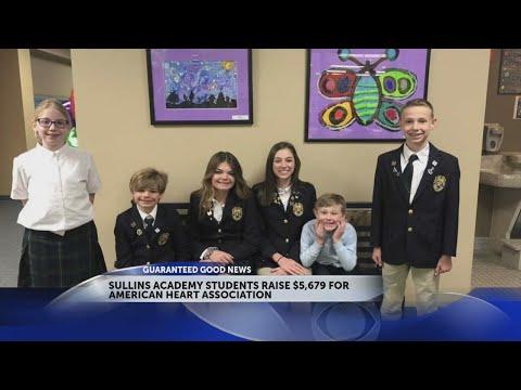 Sullins Academy raise $5,679 for American Heart Association