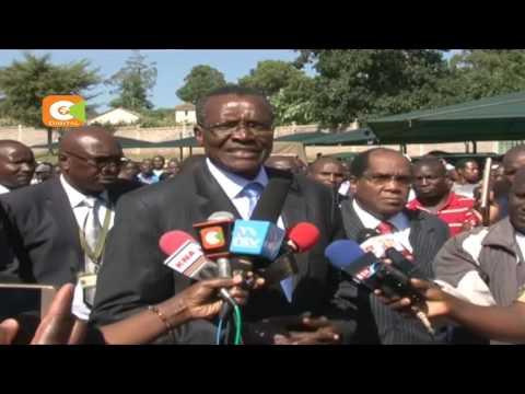 David Maraga has decried lack of unpreparedness for potential election petitions