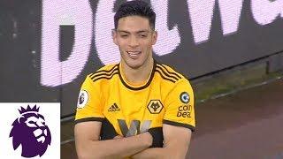 Diogo Jota finds Raul Jimenez to put Wolves ahead against Bournemouth | Premier League | NBC Sports
