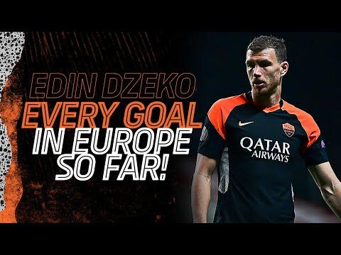 EDIN DZEKO | EVERY GOAL IN EUROPE SO FAR!