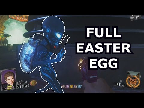 Full Solo Easter Egg Zombies In Spaceland