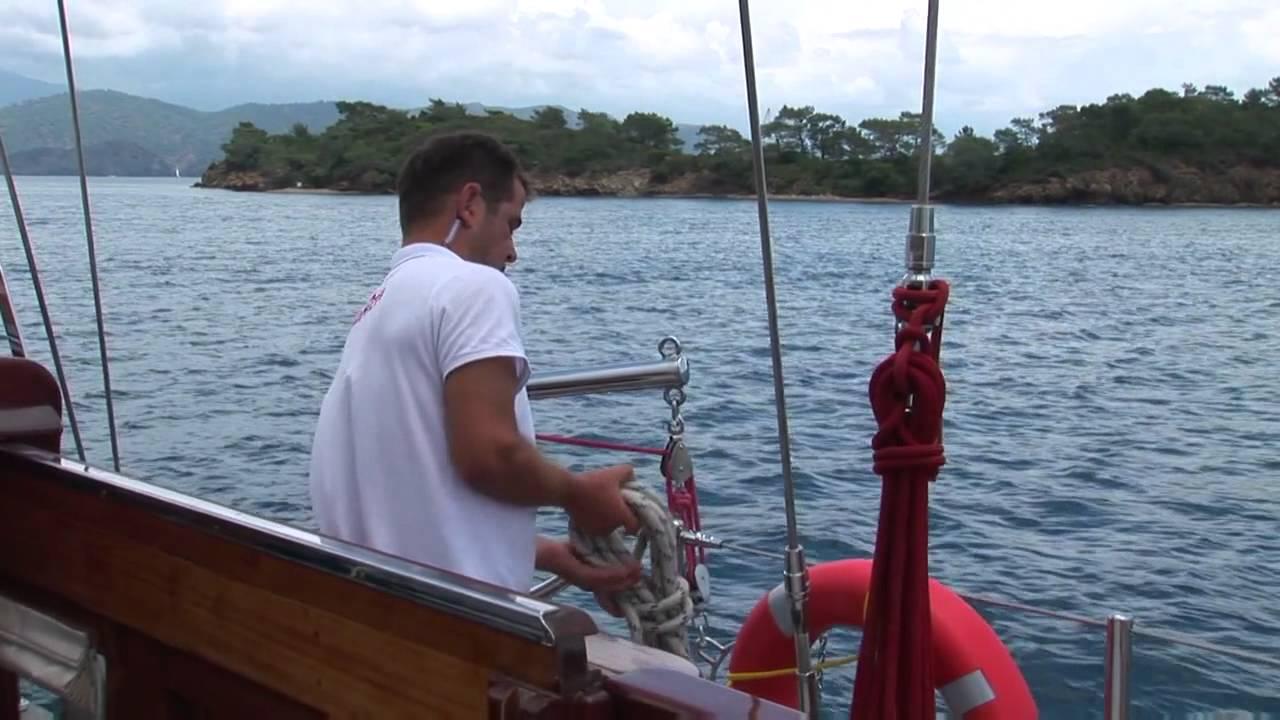 Luxus segelyacht holz  Premium-Imagefilm für Luxus-Segelyacht - YouTube