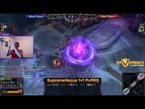 SupremeNexus PvPRO League of Legends Premium 1v1 Turnir - Runda 1