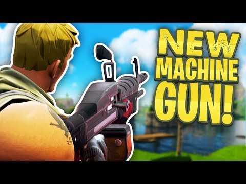 NEW MINIGUN / MACHINE GUN UPDATE - Fortnite Battle Royale