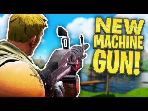 new minigun machine gun update fortnite battle royale - fortnite minigun update