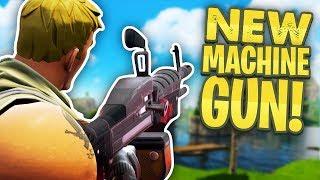NEW MINIGUN / MACHINE GUN UPDATE - Fortnite Battle Royale