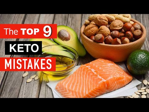 THE TOP 9 KETO MISTAKES That Sabotage Your Results!!!