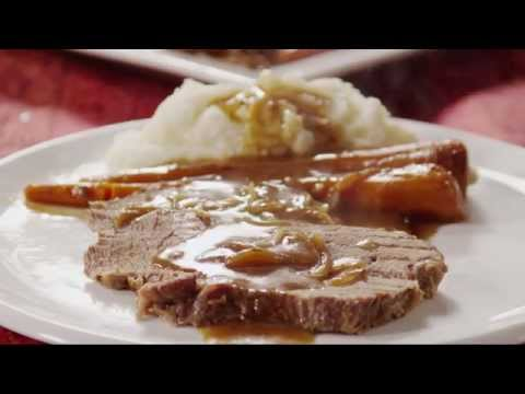 How To Make Slow Cooker Pot Roast | Beef Recipes | Allrecipes.com