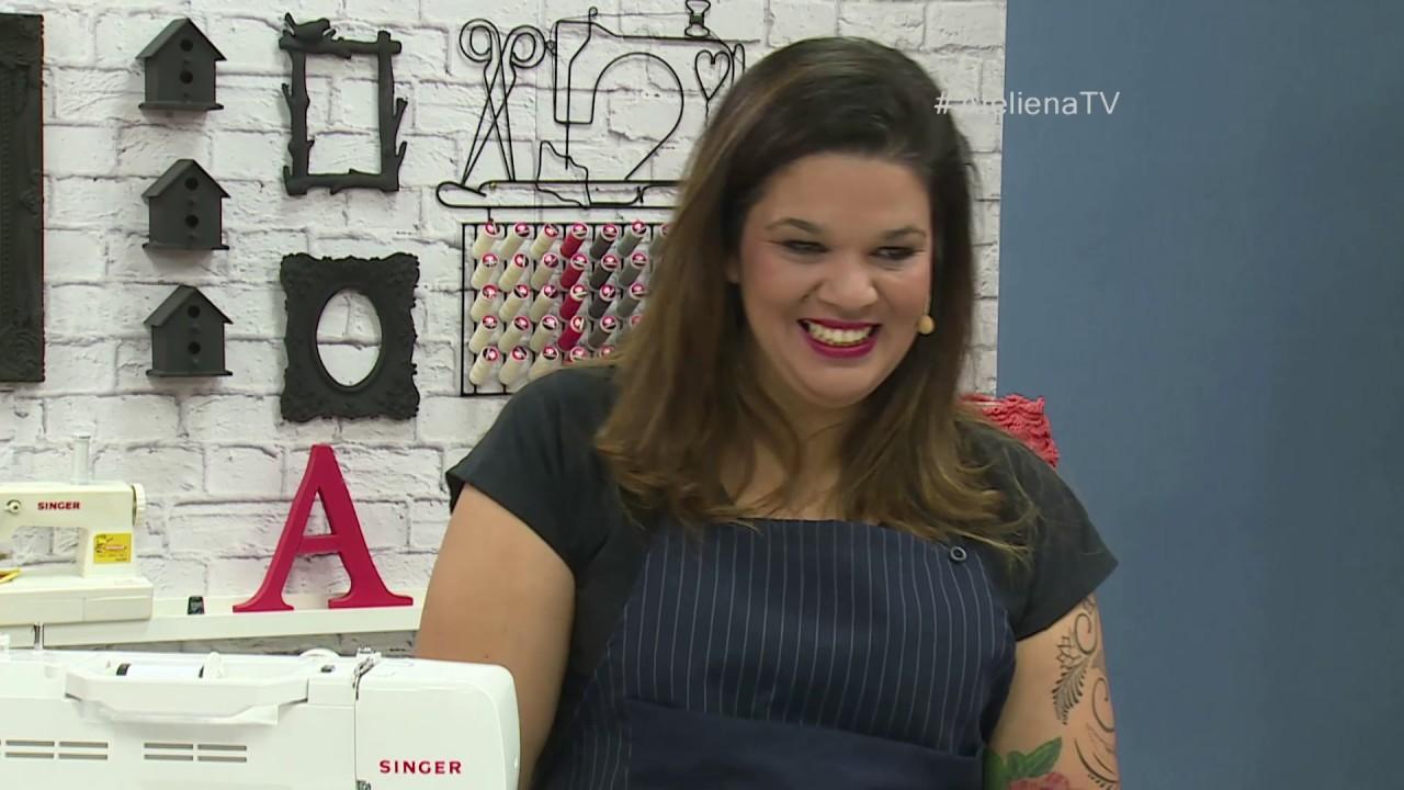 Aparador Mesa Retratil ~ Ateli u00ea na TV Rede Vida 12 06 2017 Renata Silva e Jaqueline Santos YouTube