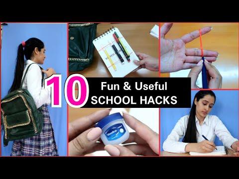 Clever School Hacks You Must Try | Teenage School & College Hacks