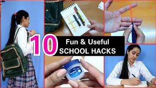 Clever School Hacks You Must Try  Teenage School &amp College Hacks