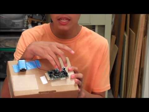 Omar creates a voice changer for his starter project!
