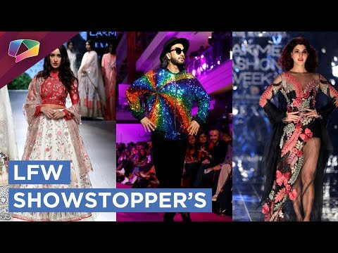 All The Showstopper Drama From Lakme Fashion Week Autumn/Winter 2017
