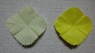 たんぽぽの折り方です。 How to fold a Dandelion. チャンネル登録はこ...
