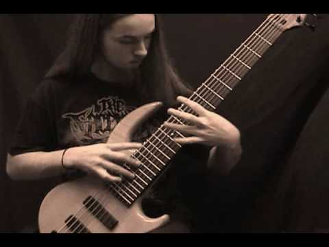 Brain Drill - Sadistic abductive on bass guitar