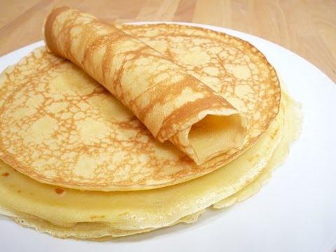 Pfannkuchen/ Eierkuchen- Basis-Teig