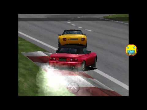 Gran Turismo: GT Cup: Grand Valley Speedway replay (1st place) (Mazda Eunos Roadster)