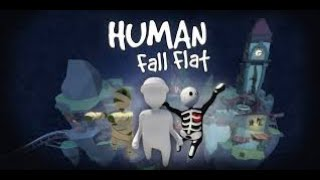 Human Fall Flat -- Fun Pandrom  --shout-casting Road to 130K Subs