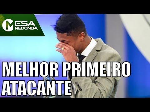 Bruno Henrique Vencedor Do Troféu Mesa Redonda (10/12/17) - Mesa Redonda