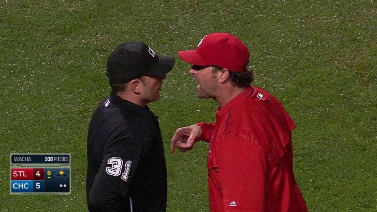 Yadier Molina calls out Cardinals manager Mike Matheny