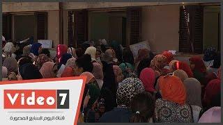 توافد آلاف الطلاب على جامعة القاهرة لسحب استمارات اختبارات القدرات
