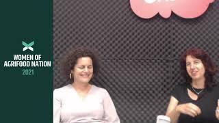 Merav Oren with Keren Moshelion, CEO at Plant-DiTech