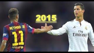 Neymar & Cristiano Ronaldo ● 2015 ● Skills Show HD