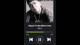Rapper Po Ako (Minus one) - Flict G .