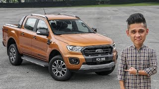 FIRST DRIVE: 2019 Ford Ranger 2.0L Wildtrak 4x4 - RM145k