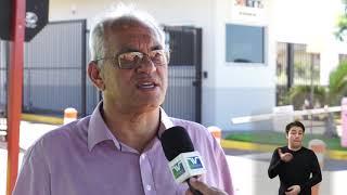 Jornal Acontece - Ponto de ônibus no bairro Maria Luiza