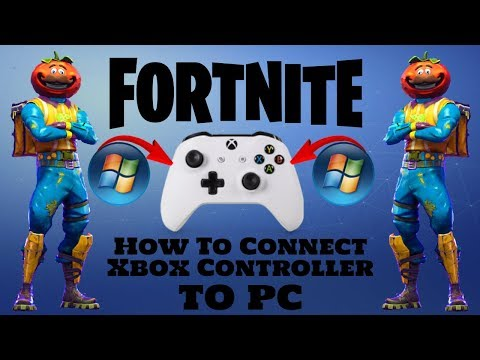 Play Fortnite on Pc with Xbox/Ps4 Controller Season 5