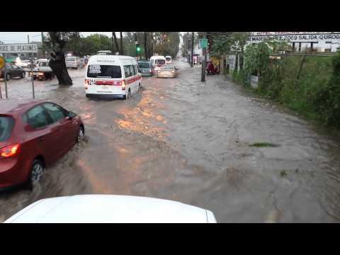 Inundacion en morelia michoacan parte 1