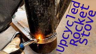 How to design and make a Rocket Stove Griddle