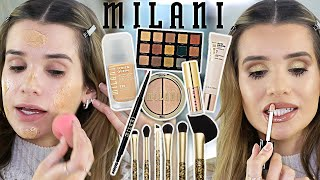 FULL FACE Testing NEW MILANI MAKEUP! Hit or Miss?!