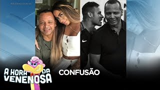 Pai de Neymar arruma confusão com Gabigol durante festa
