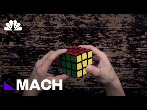 An Algorithm Can Solve A Rubik's Cube Faster Than Any Human | Mach | NBC News