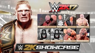 WWE 2K17 2K Showcase Mode - Brock Lesnar The Conqueror Gameplay Notion