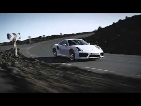 La nouvelle Porsche 911 turbo en action