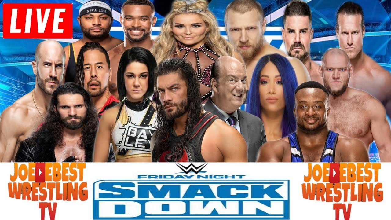 Download WWE Smackdown Live Stream January 8th 2021 - Full Show Live Reactions Watch Along