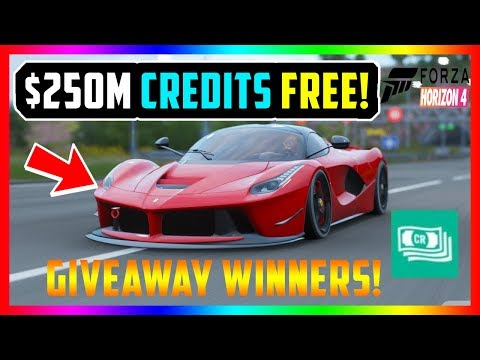 FORZA HORIZON 4 BEST MONEY GLITCHES $250M CR FREE! (+GIVEAWAY WINNERS!) thumbnail