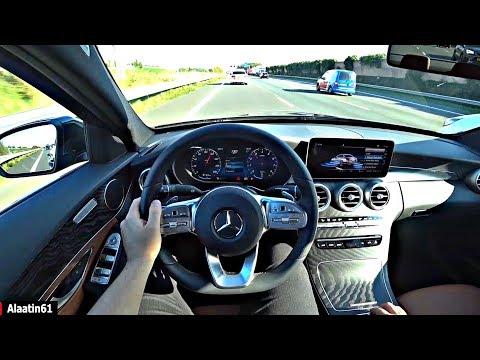 The Mercedes C Class 2020 POV Test Drive