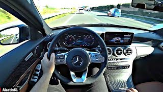The Mercedes C Class 2020 POV Test Drive