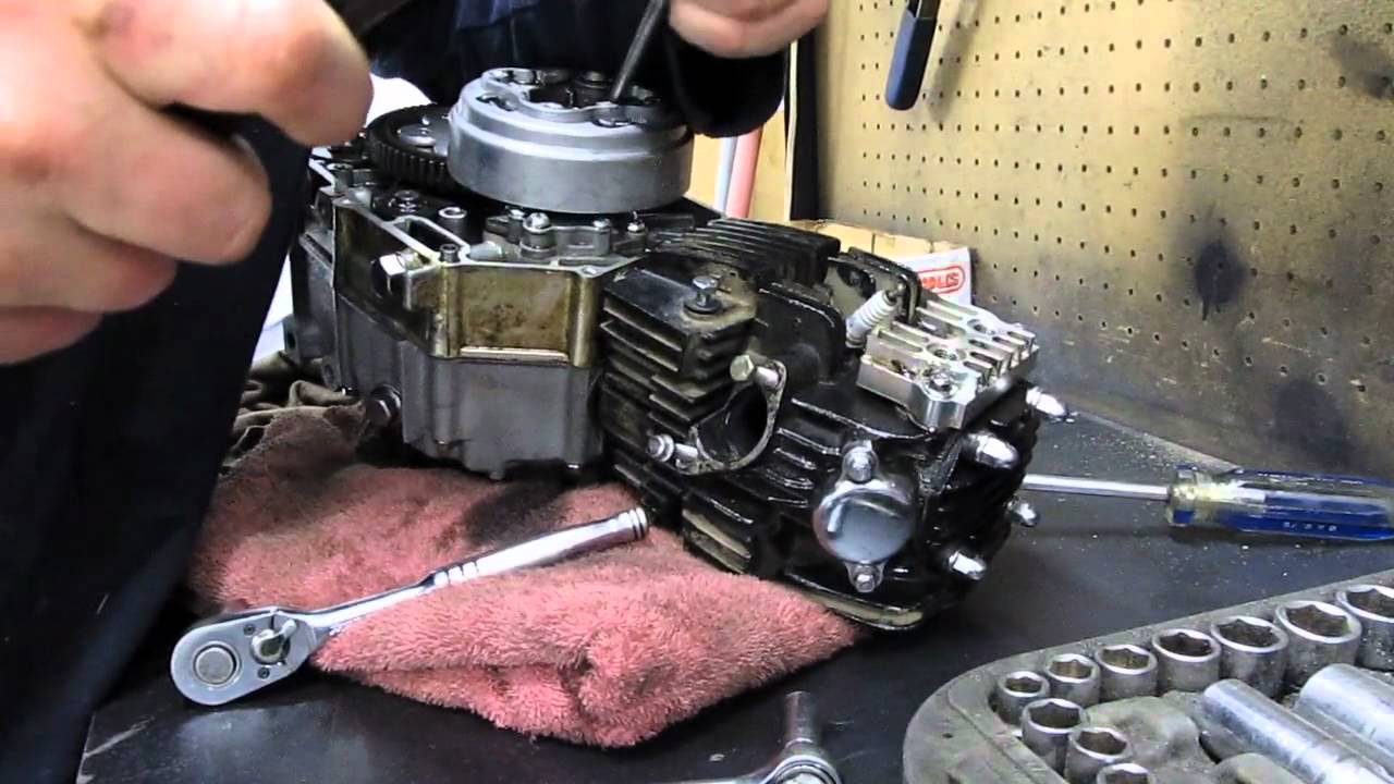 110cc Pit Bike Wiring Diagram 110cc Pit Bike Engine Teardown Pt1 Youtube