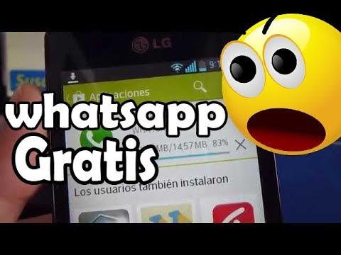 Como descargar whatsapp gratis para LG Optimus L4 comoconfigurar