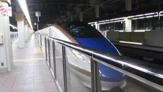北陸新幹線W7系つるぎ730号富山行金沢駅発車※発車メロディーあり