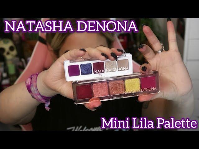 Natasha Denona - Mini Lila Palette Tutorial