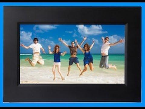 sylvania 7 digital photo frame unboxing