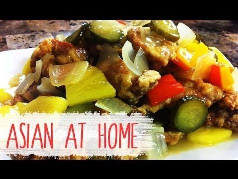 Pork Recipes : Sweet and Sour Pork (Sweet Sour/Tangsuyuk) : Korean Chinese Food : Asian at Home